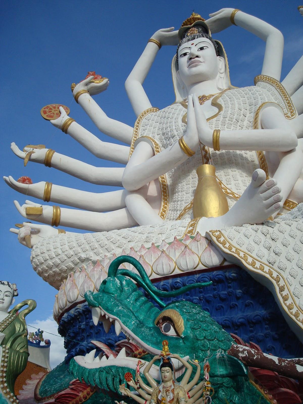 准胝観世音菩薩_Statue Of Eighteen Arms Buddha (6)
