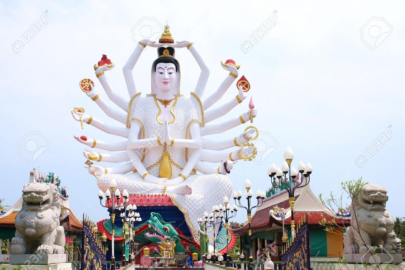 Ko Samui - Thailand - Guanyin_Cundi Buddha (1)