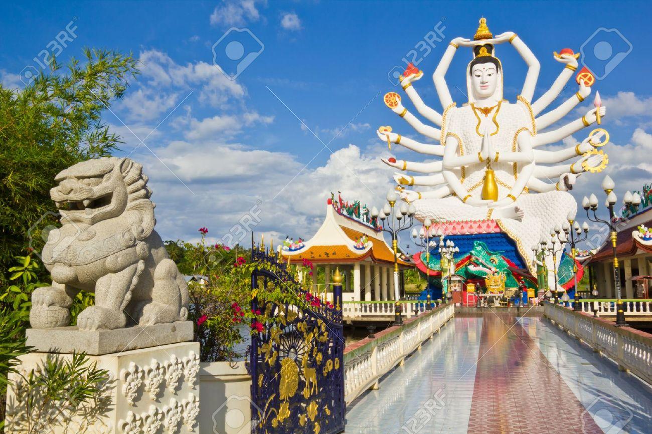 Ko Samui - Thailand - Guanyin_Cundi Buddha (2)
