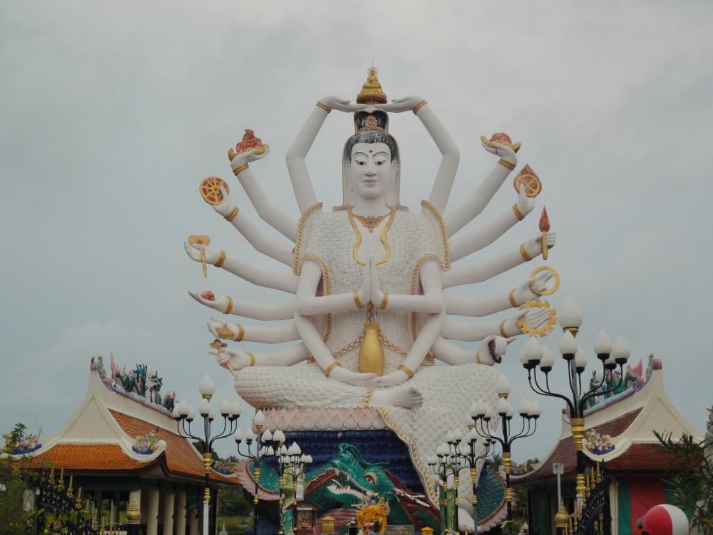 Ko Samui - Thailand - Guanyin_Cundi Buddha (4)