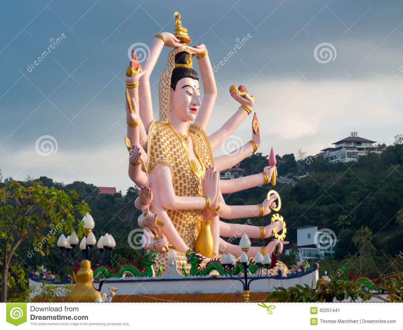 Ko Samui - Thailand - Guanyin_Cundi Buddha (5)