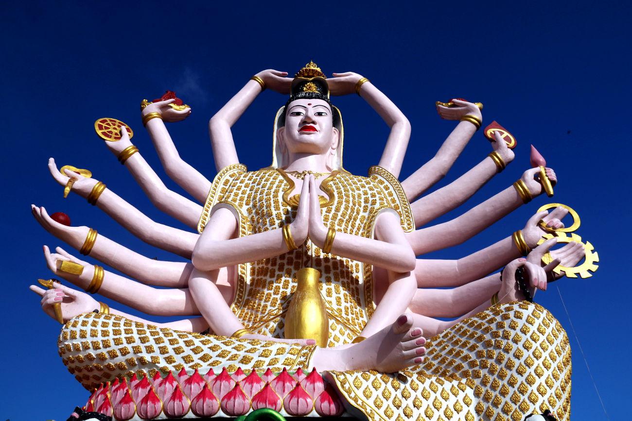 Ko Samui - Thailand - Guanyin_Cundi Buddha (6)