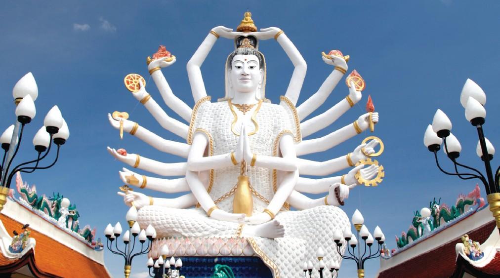 Ko Samui - Thailand - Guanyin_Cundi Buddha (7)