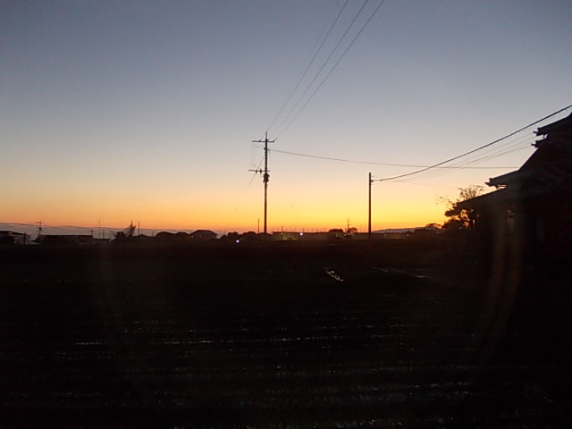 Sunset 20151212