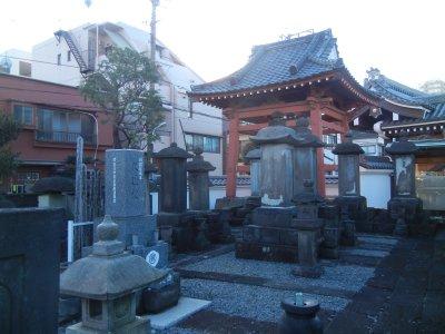 久世大和守歴代の墓