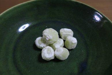 柚餅on総織部皿
