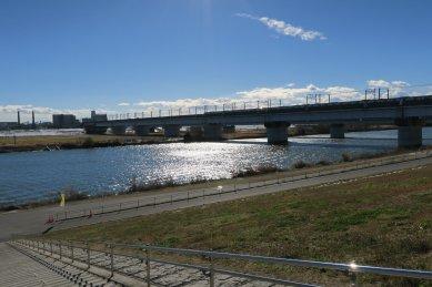 戸田川渡口