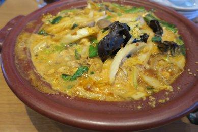 牡蠣の味噌煮込み麺