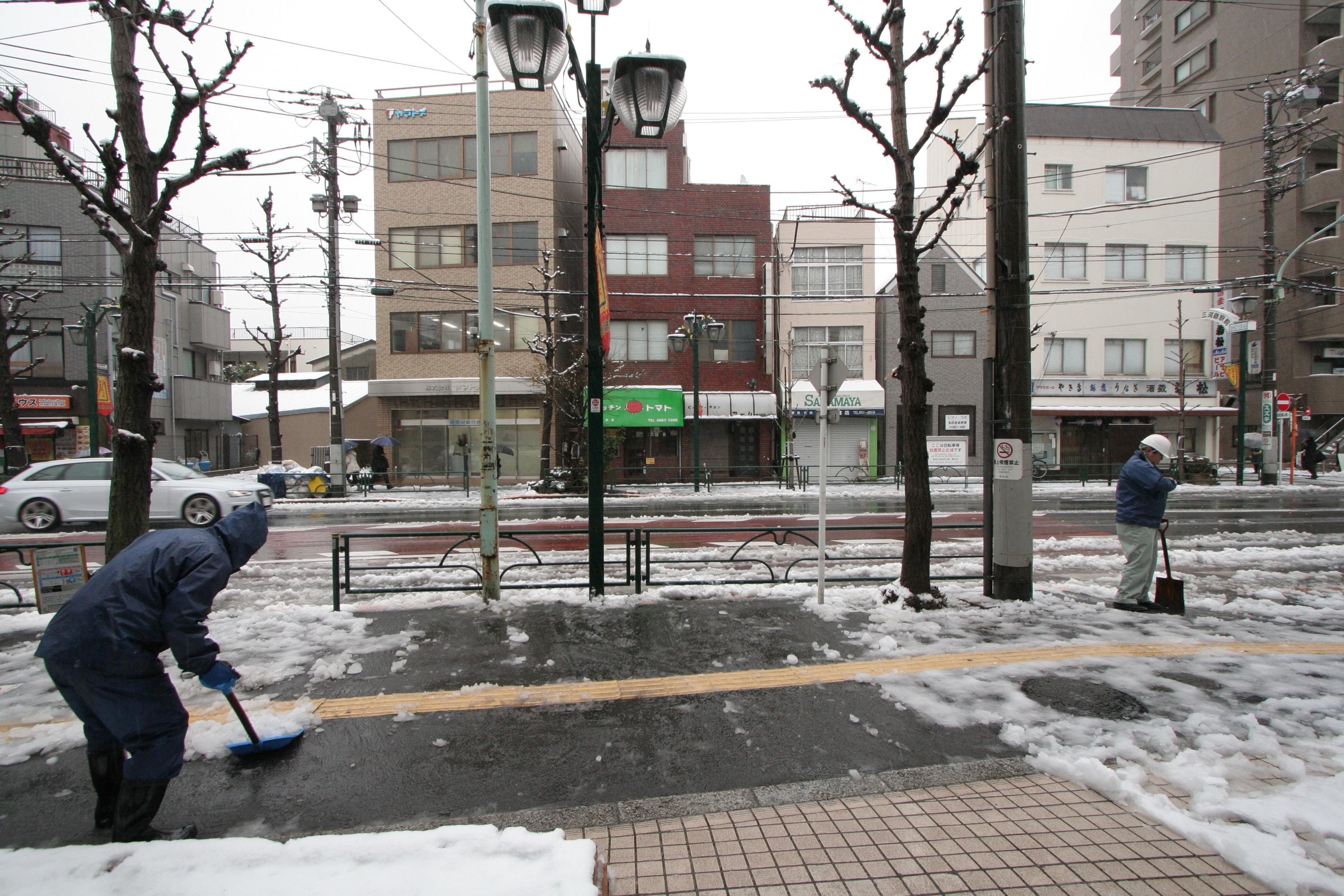 関東平野部でも積雪_01