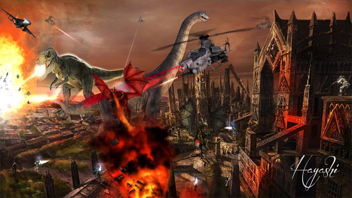 恐竜戦争700