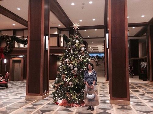 ヒルトンクリスマスツリー