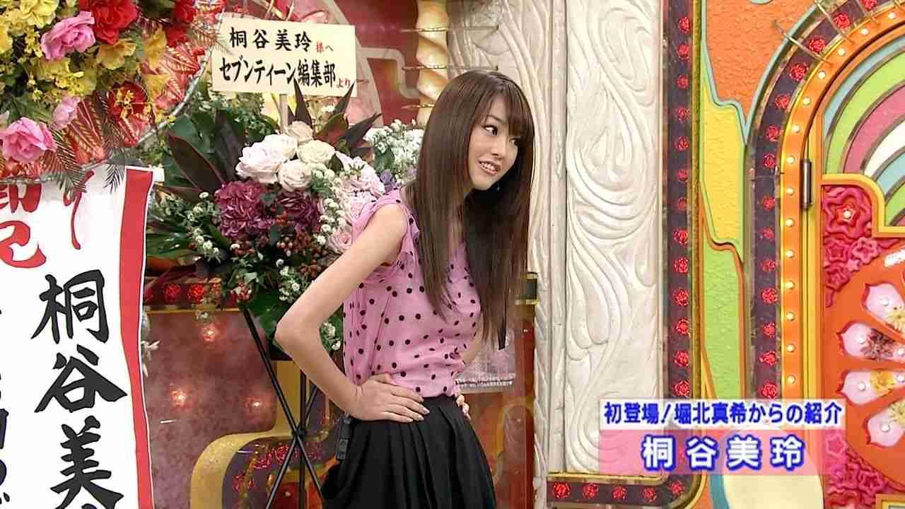 「笑っていいとも」テレフォンショッキングに出演した桐谷美玲