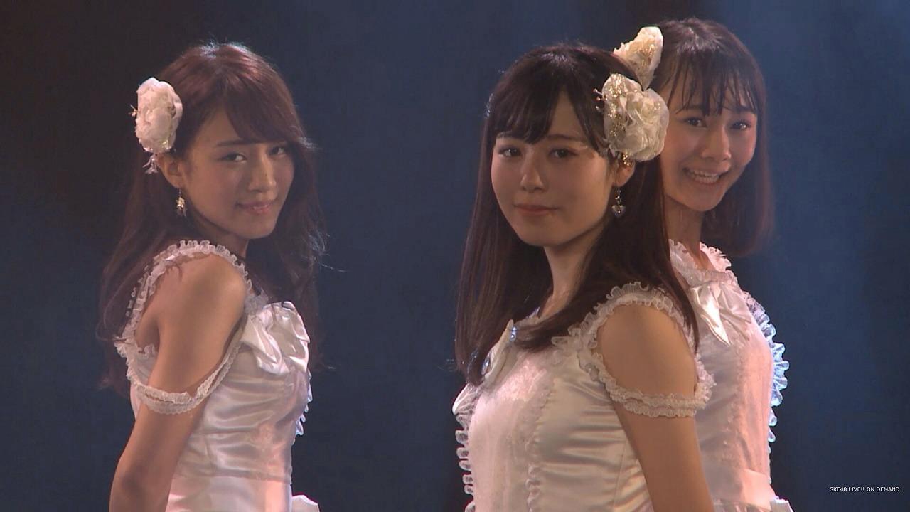 SKE48・後藤楽々の着衣おっぱい