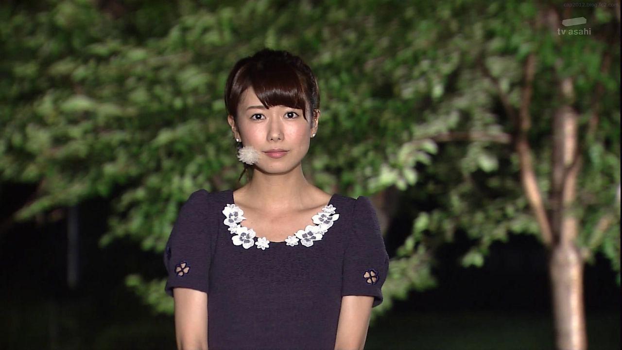 テレビ朝日「報道ステーション」青山愛アナ