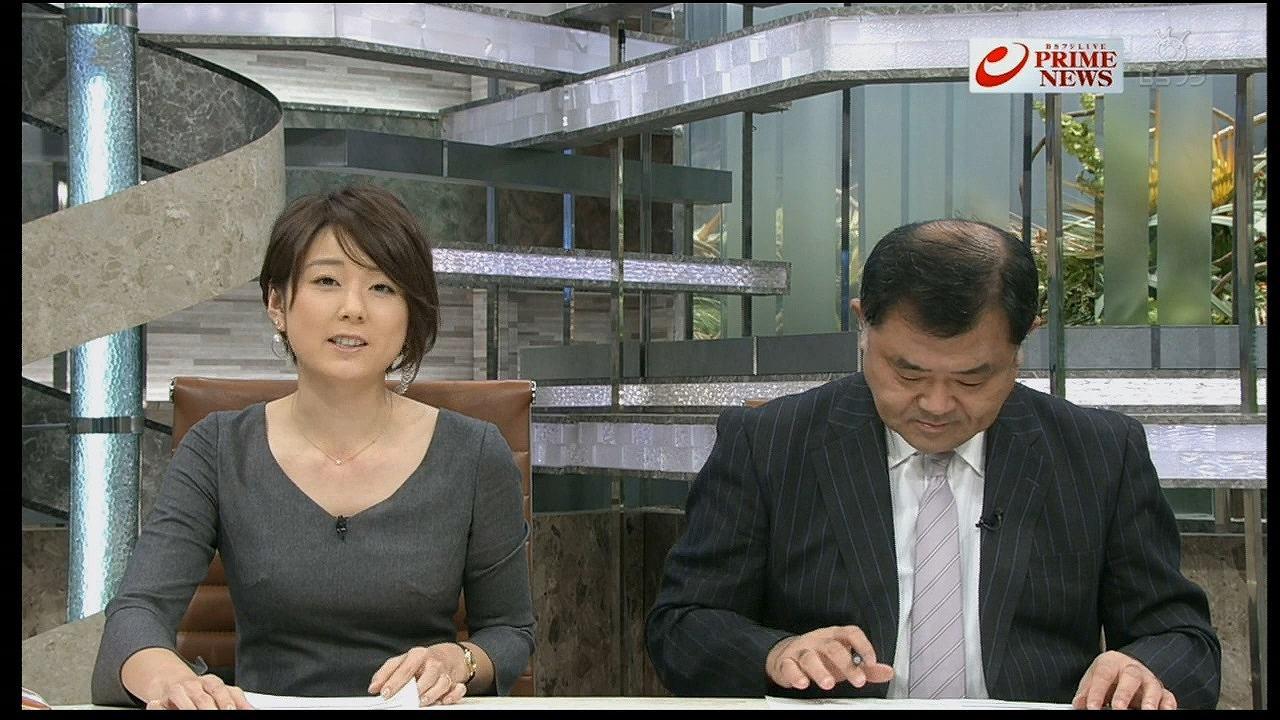 ニュース番組で胸ポチしてるフジテレビの秋元優里アナ