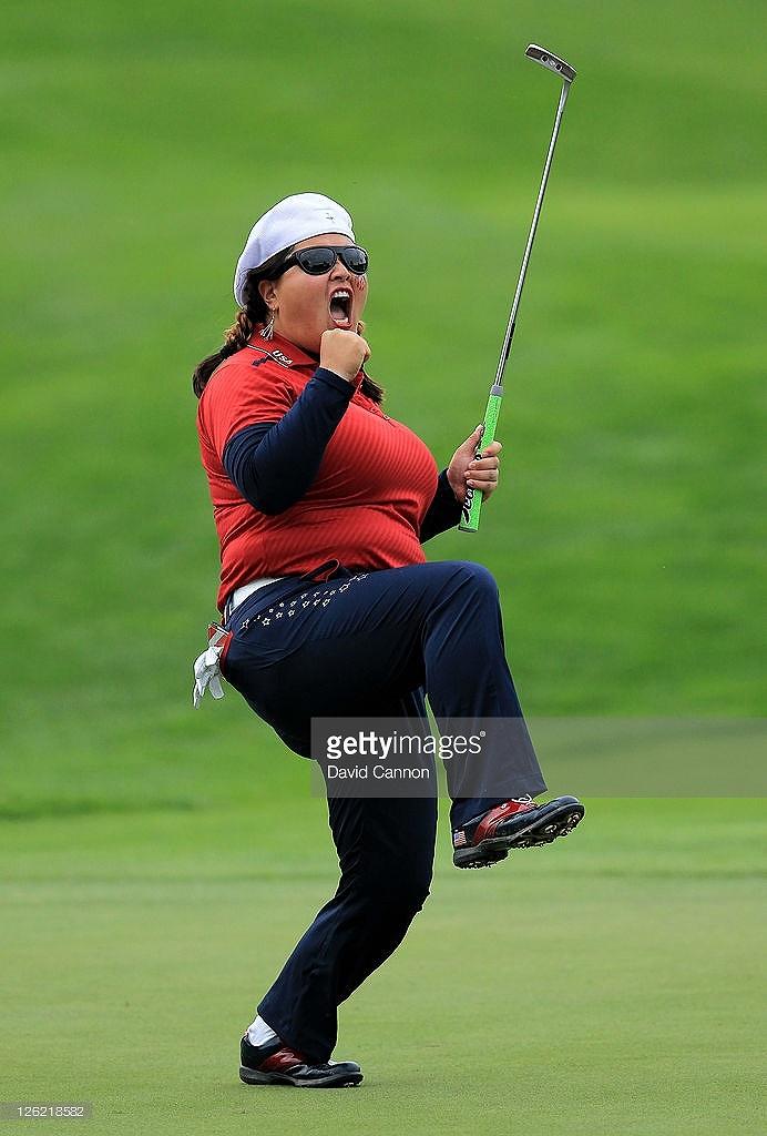 国人女子プロゴルファー、クリスティーナ・キムのわがままボディ