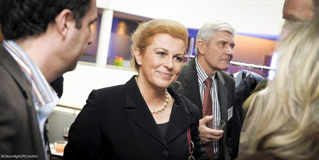 クロアチアの女性大統領、コリンダ・グラバル=キタロヴィッチ