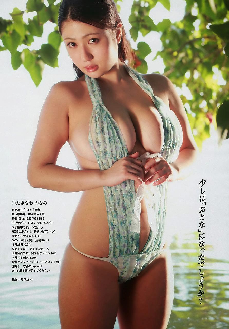 「週刊プレイボーイ 2013年号」滝沢乃南の変態水着グラビア