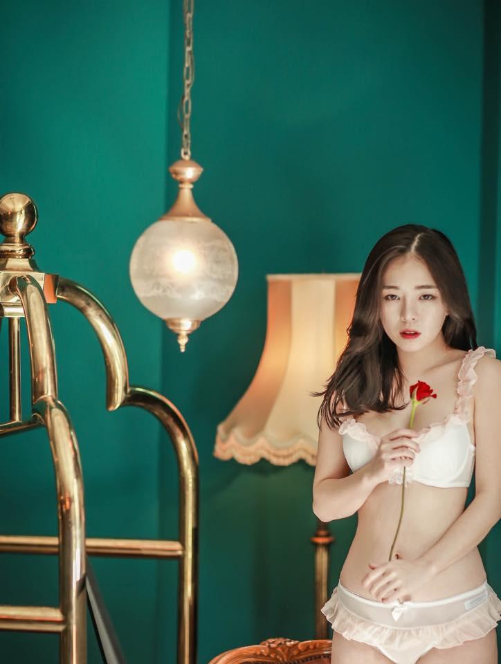 韓国人の下着モデル