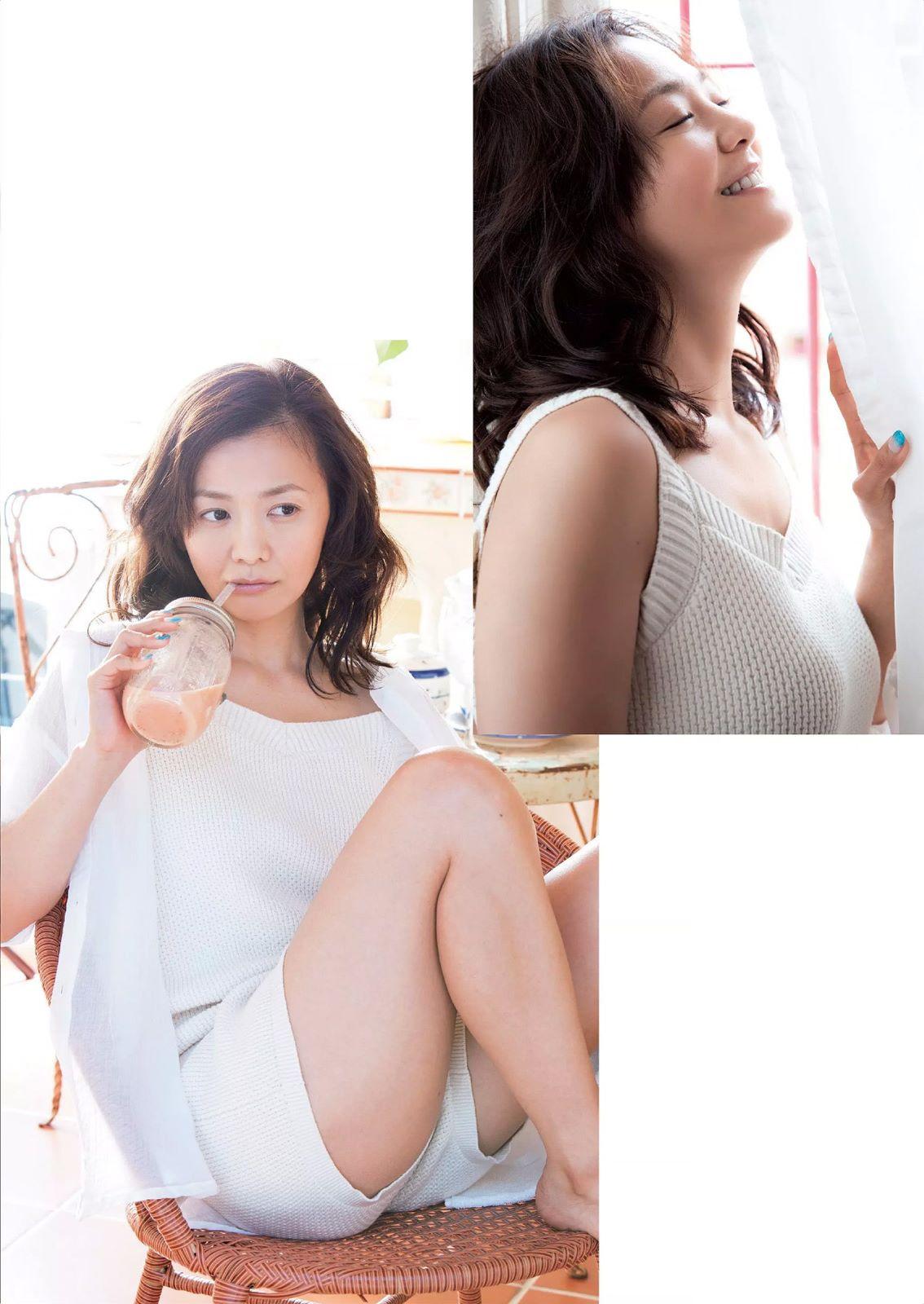 「週刊プレイボーイ 2015年 7/27号」、華原朋美のショートパンツ太ももグラビア
