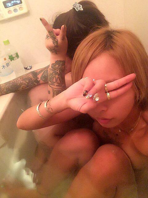 引退したAV女優・泉麻那の入浴画像