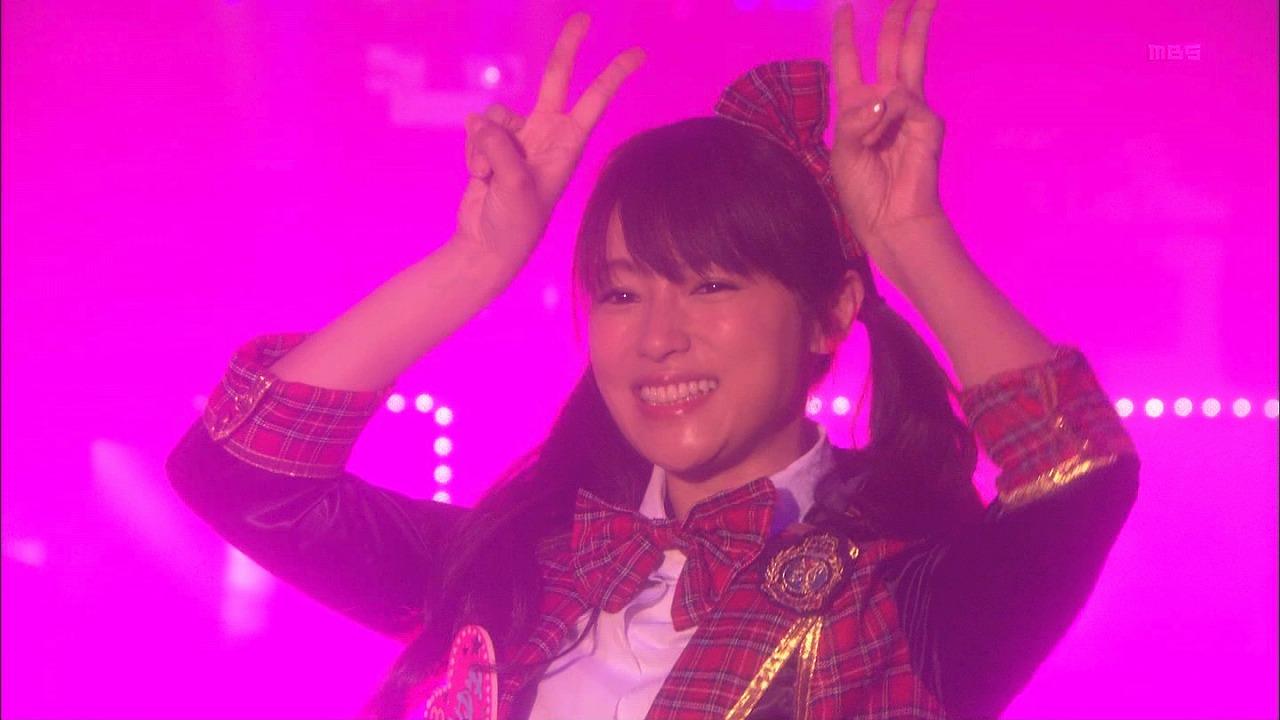 ドラマ「ダメな私に恋してください」でアイドルコスプレをした深田恭子