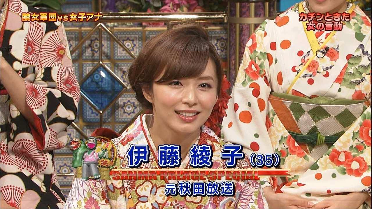 「踊る!さんま御殿」に着物で出演した伊藤綾子