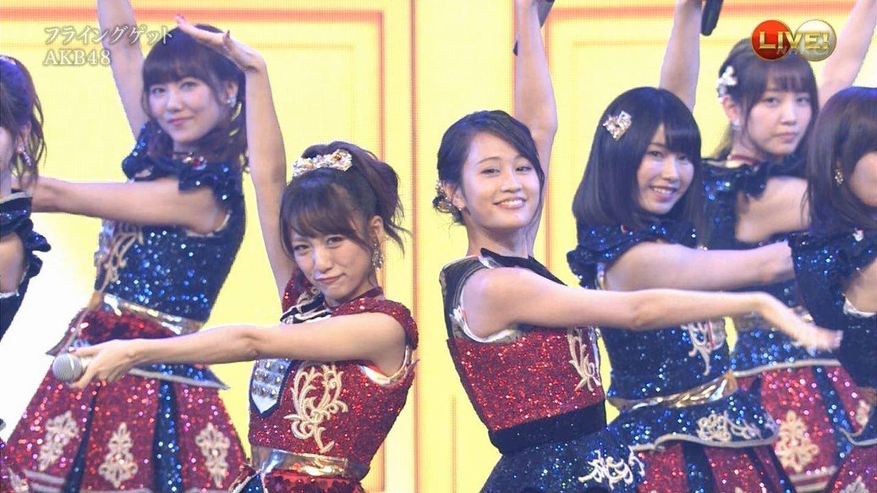 「第66回NHK紅白歌合戦」にサプライズ出演した前田敦子