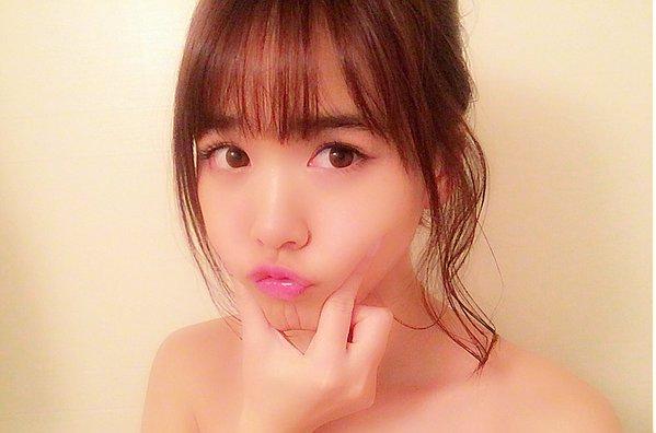 元HKT48・菅本裕子の入浴中オフェロ顔