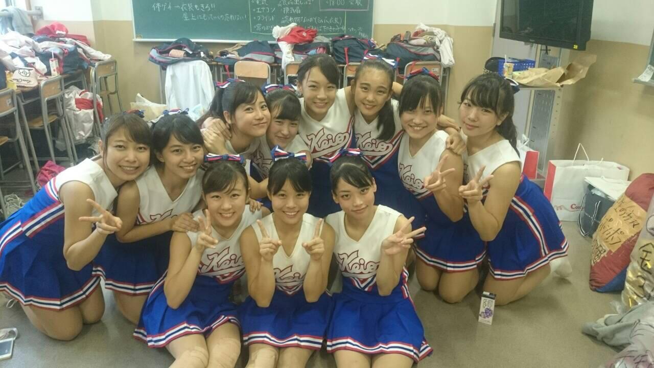 慶應義塾女子高校のJKチアガール