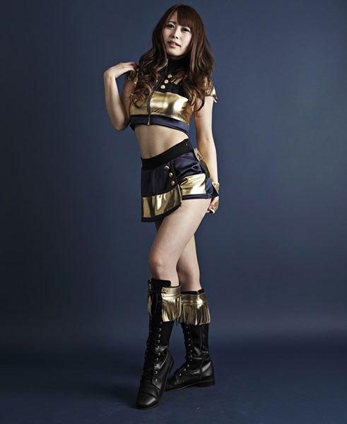 AVデビューした人気プロ球団専属チアリーダーYUNAのチアリーダー時代の画像(Bs GirlsのYUME)