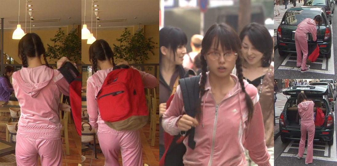 スウェットを着た戸田恵梨香のおっぱいとお尻