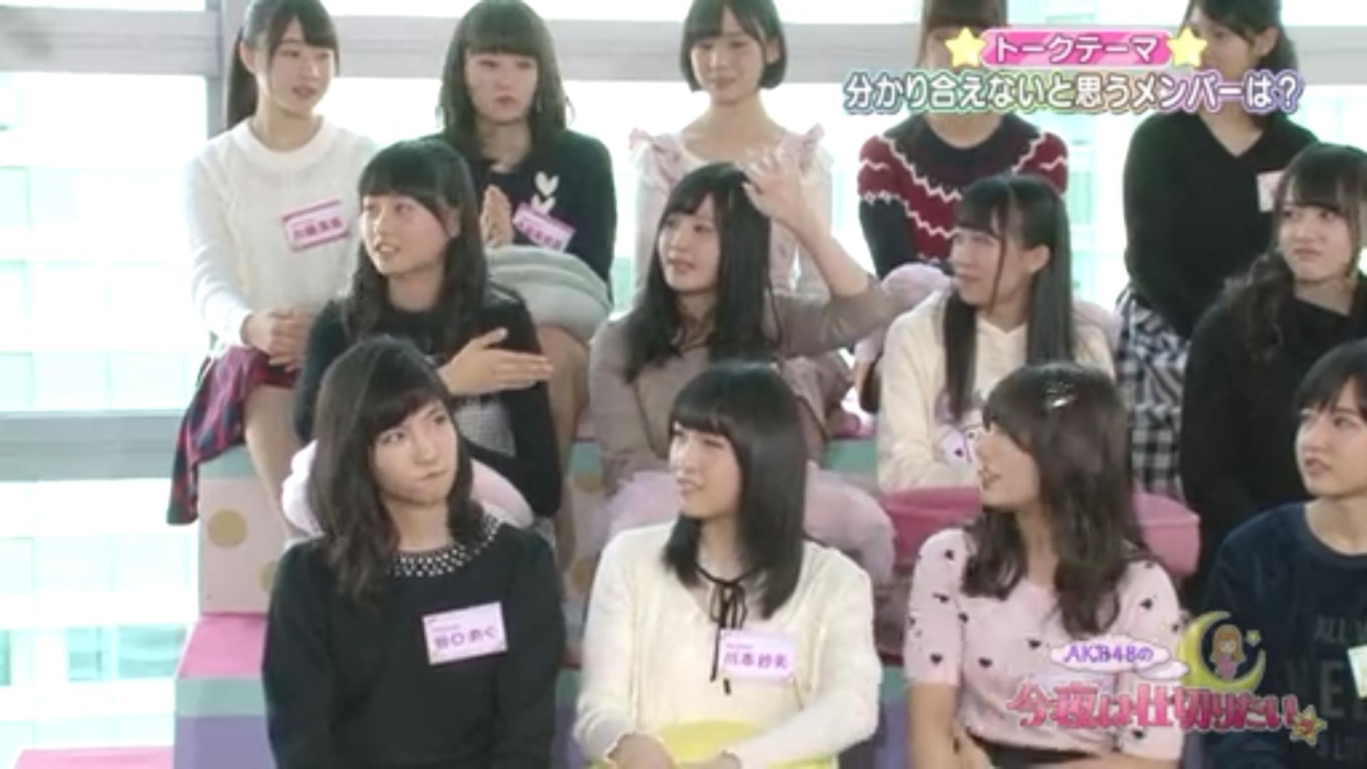 佐藤妃星、谷口めぐ、などAKB48の15期メンバー