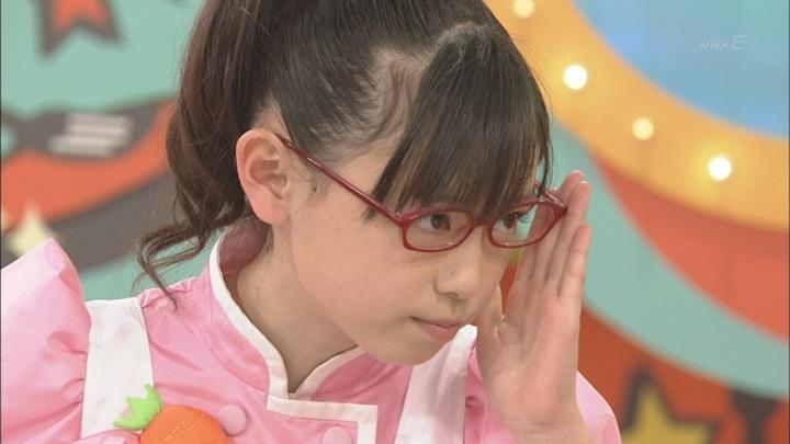 「クッキンアイドル アイ!マイ!まいん!」でまいんちゃんだった頃の福原遥