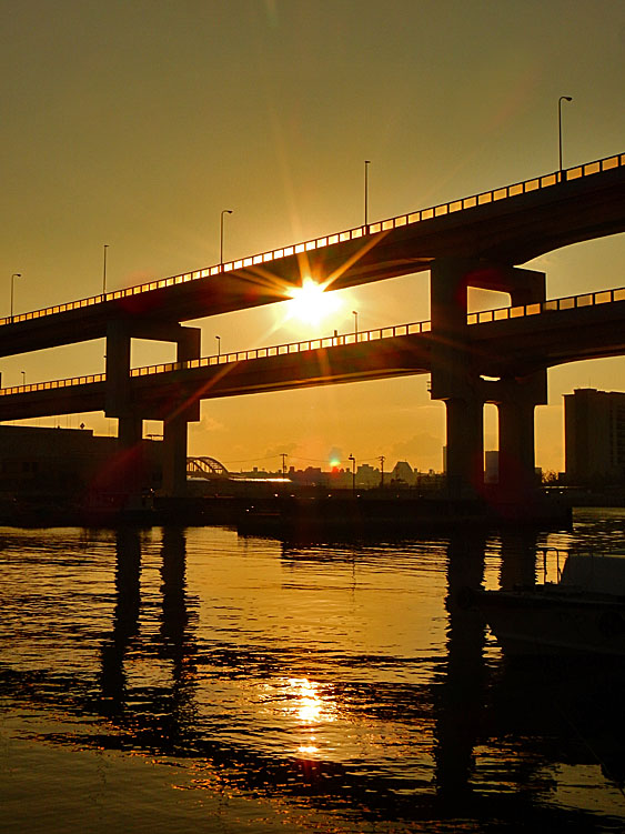 160101神戸 浜手バイパス