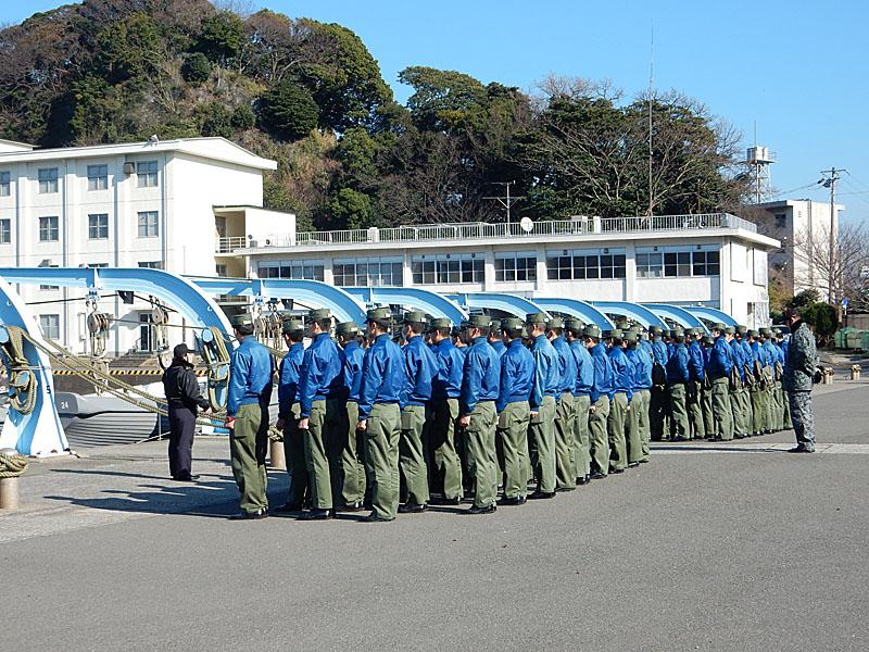 160116防衛大学校走水海上訓練場2