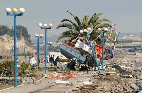 チリ コンセプシオン地震