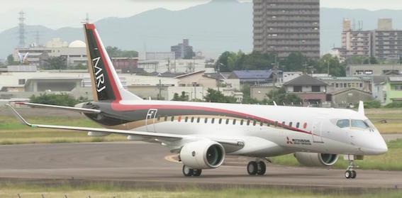 ジェット旅客機MRJ
