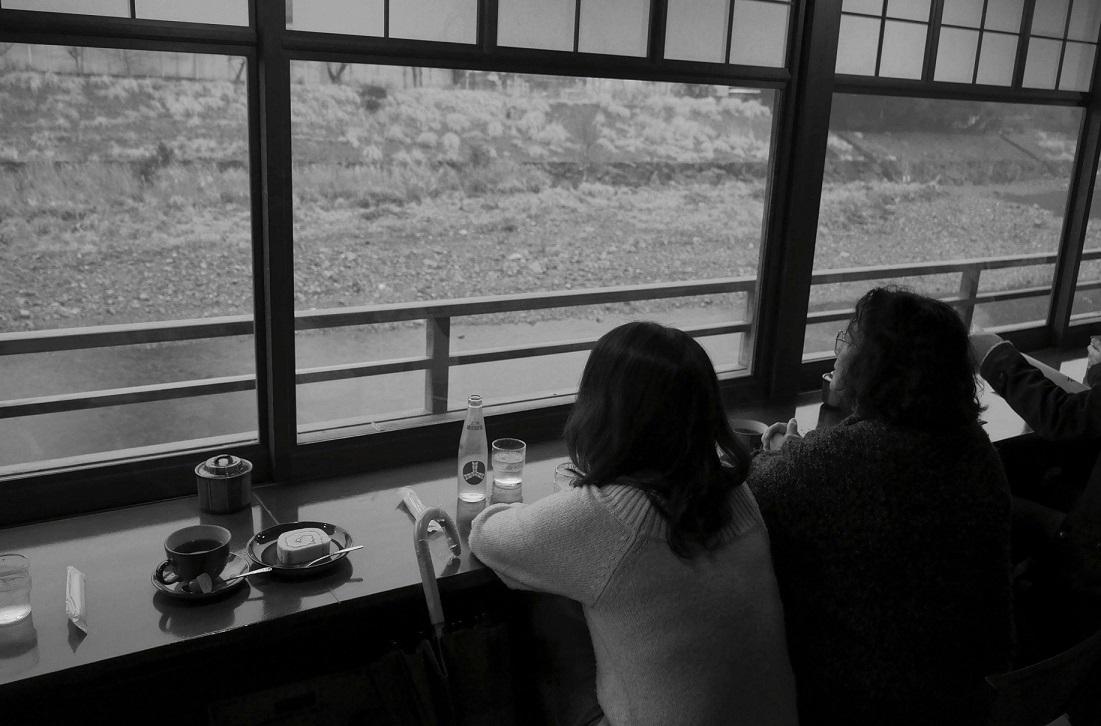 五十川カフェ窓