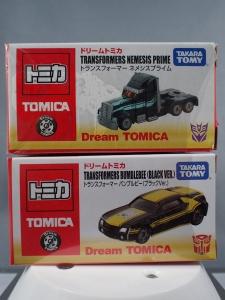 日本未発売TOMICA (アジア限定)【ドリームトミカ】 トランスフォーマー ネメシスプライム :バンブルビー(ブラックVer)002