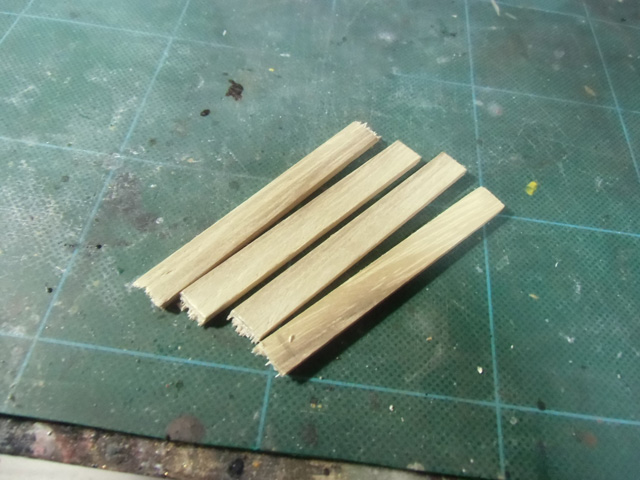 4枚の板材