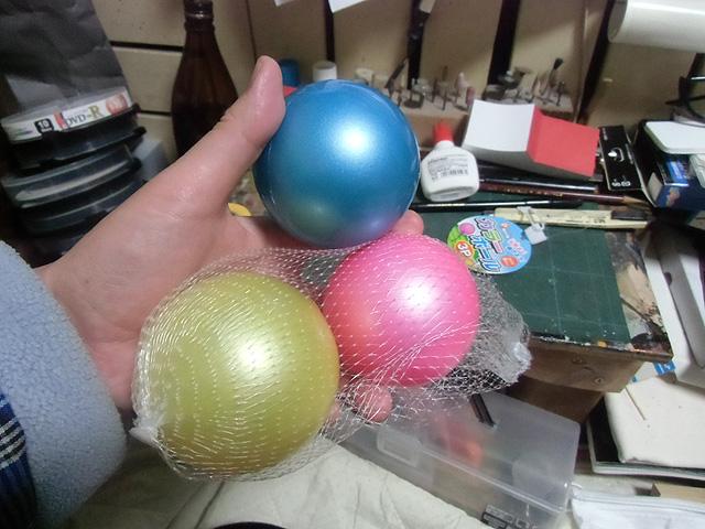 ビニールのボール