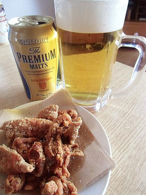 ビールのおつまみに