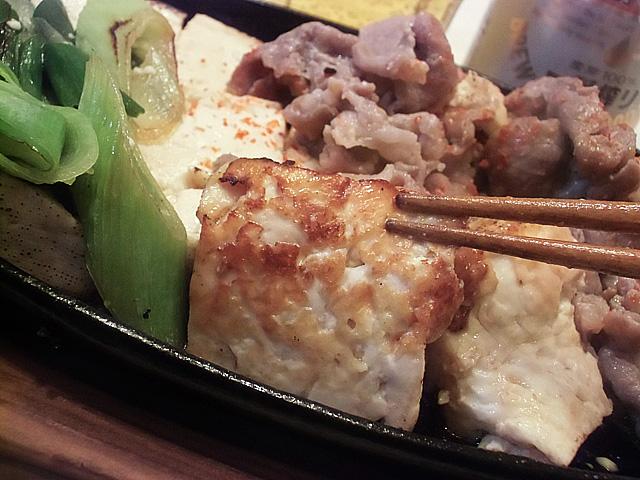 染みた豆腐