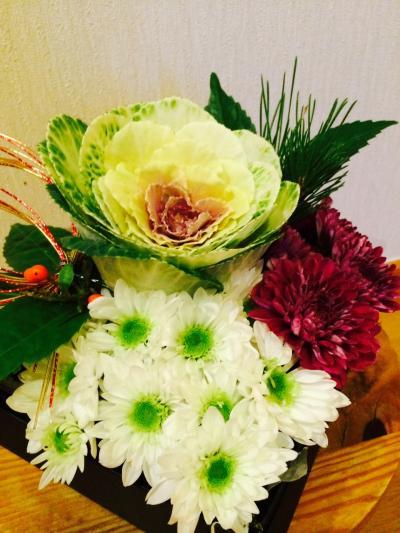2016.1.1お花