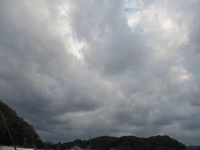 アヤシイ雲だー