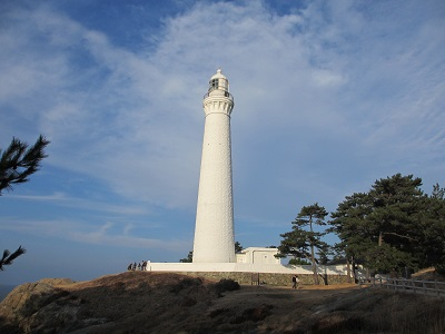 白亜の灯台