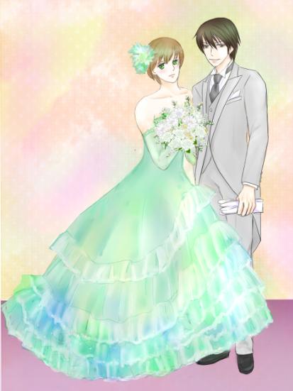 婚礼衣装blog