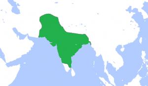 ムガル帝国最大版図
