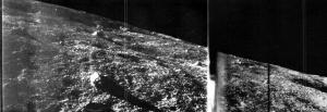 ルナ9号の撮影した月面